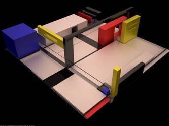 Mondrian Inspiration by moxo