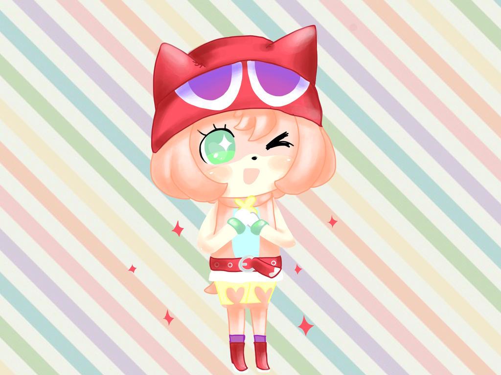 Puyo Puyo Amy! by CatBecker
