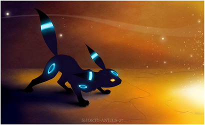 Umbreon by shorty-antics-fanart