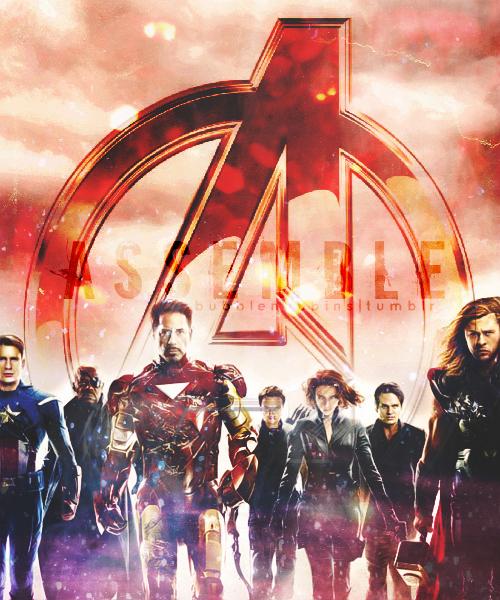 Avengers Assemble by bubblenubbins