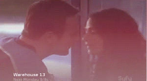 The Kiss by bubblenubbins