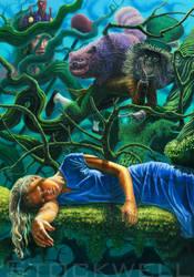 Alice by AaronStockwellart