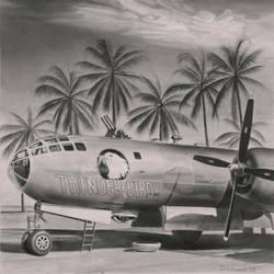 B29 in Burma, 1944 by AaronStockwellart