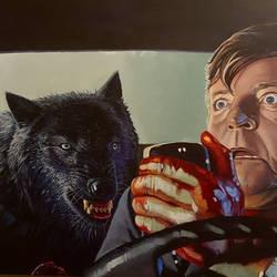 It's Not werewolves, it's Wolfen by AaronStockwellart
