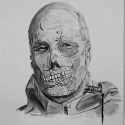 Abominable Dr. Phibes by AaronStockwellart
