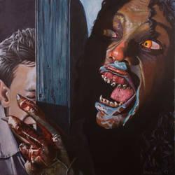 Demons Rosemary by AaronStockwellart