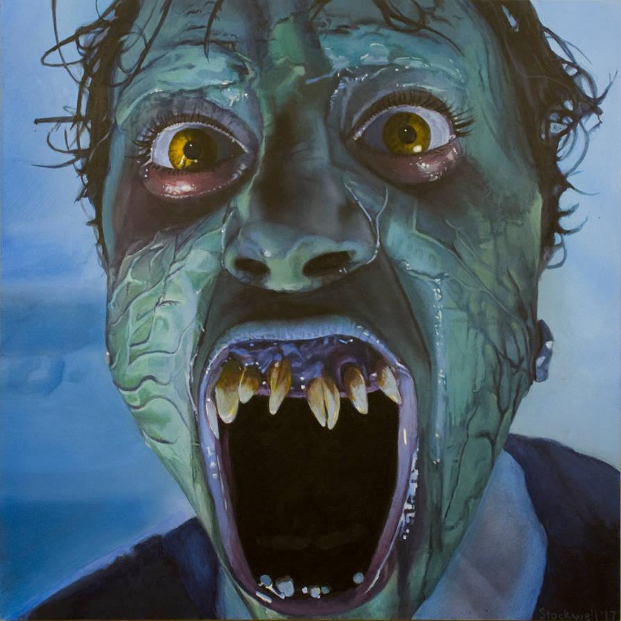 Demons 2- Sally by AaronStockwellart
