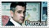 Percival Graves Stamp by Pavasara-Dvesma