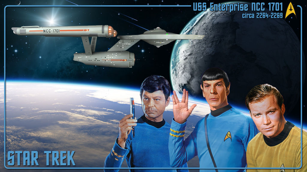 Star Trek TOS Wallpaper by DDayzTri ...