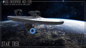 Star Trek Starfleet Starship Specs USS Enterprise
