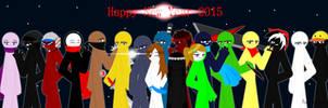 Happy New Year 2015 by KatherineYukimura