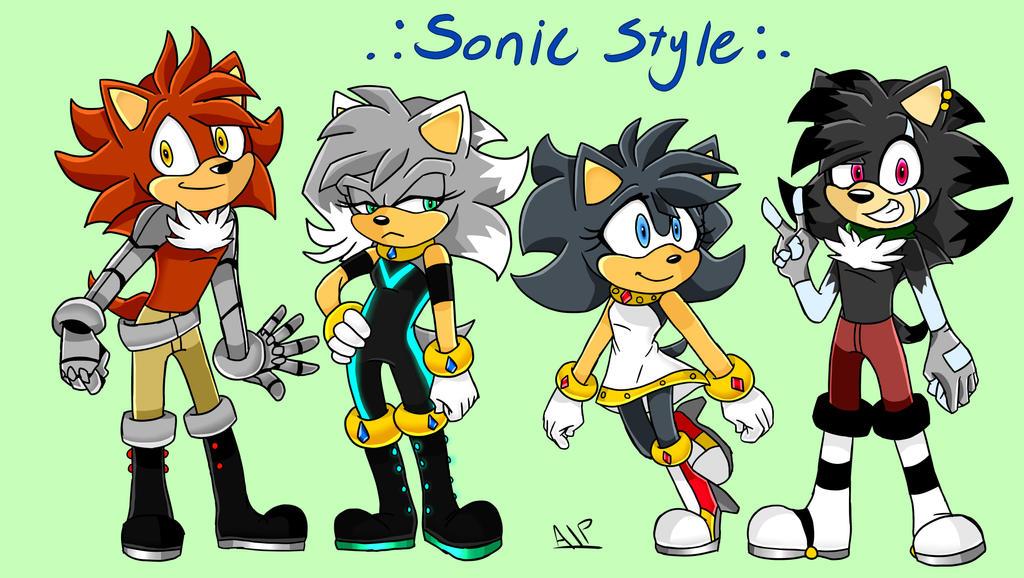 DSSR In Sonic Style by RubyGCreator