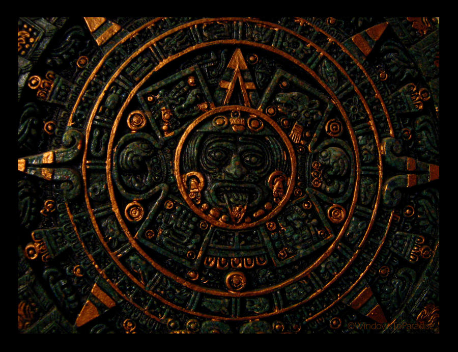 Aztec Calendar by WindowsToParadise