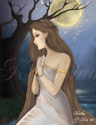 Lady by the Lake by katzmiao