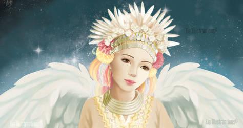 Guardian Angel by katzmiao