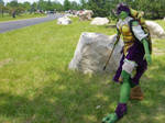 Steampunk Donatello Cosplay TMNT2