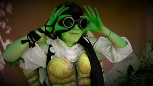 Steampunk Donatello Cosplay TMNT4