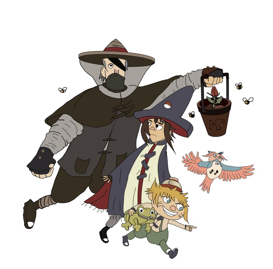 OTGW x Naruto: Characters by narutokunobessed
