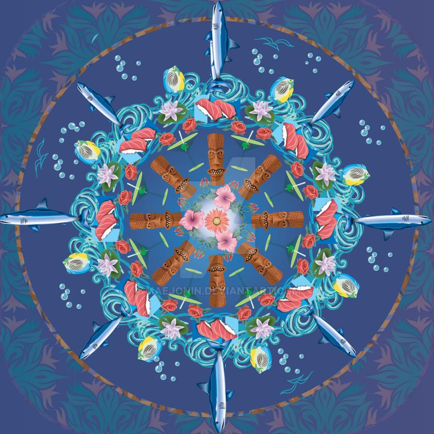 Tiki Mandala by narutokunobessed