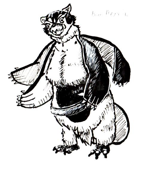 Bear Penguin Inktober #1 by narutokunobessed