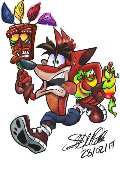 Crash Bandicoot by AztecAngler