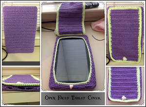 Open Faced tablet cover