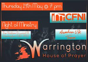 Warrington House of Prayer - Event Flyer