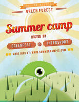 Summer Camp Flyer by Grafixity