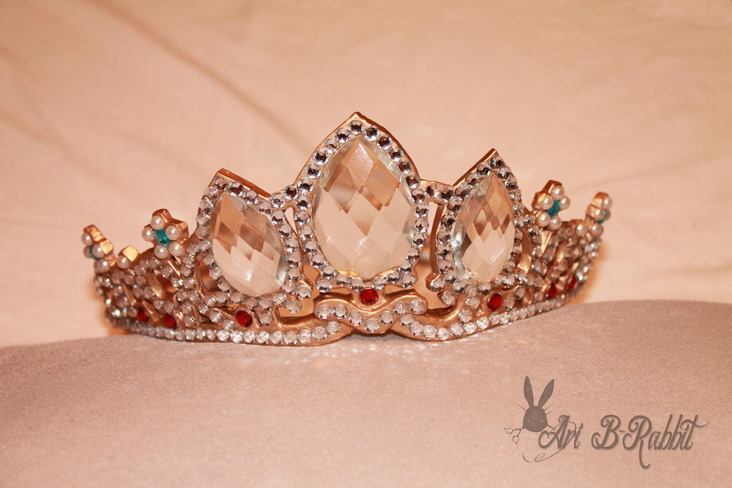 Tangled - Rapunzel Crown/Tiara for sale! by AriB-Rabbit