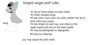 Striped Angel Wolf Rules