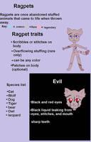 Species info(ragpets)OPEN SPECIES by Mawairu
