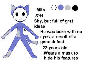 Milo ref by FionnaBun