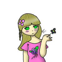Flowers by FionnaBun