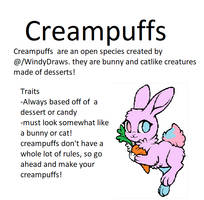 Creampuff Open Species Rules by FionnaBun