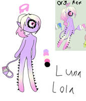 Luna and lola reference by FionnaBun