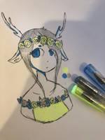 3 gel pen challenge? by Mawairu