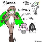 Fionna ref 2019 (fursona) by FionnaBun