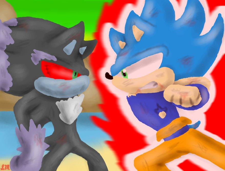 Goku V.S Frieza Sonic Style by XxskylordxX on DeviantArt