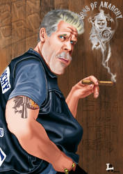 Clay Morrow -sons of anarchy-