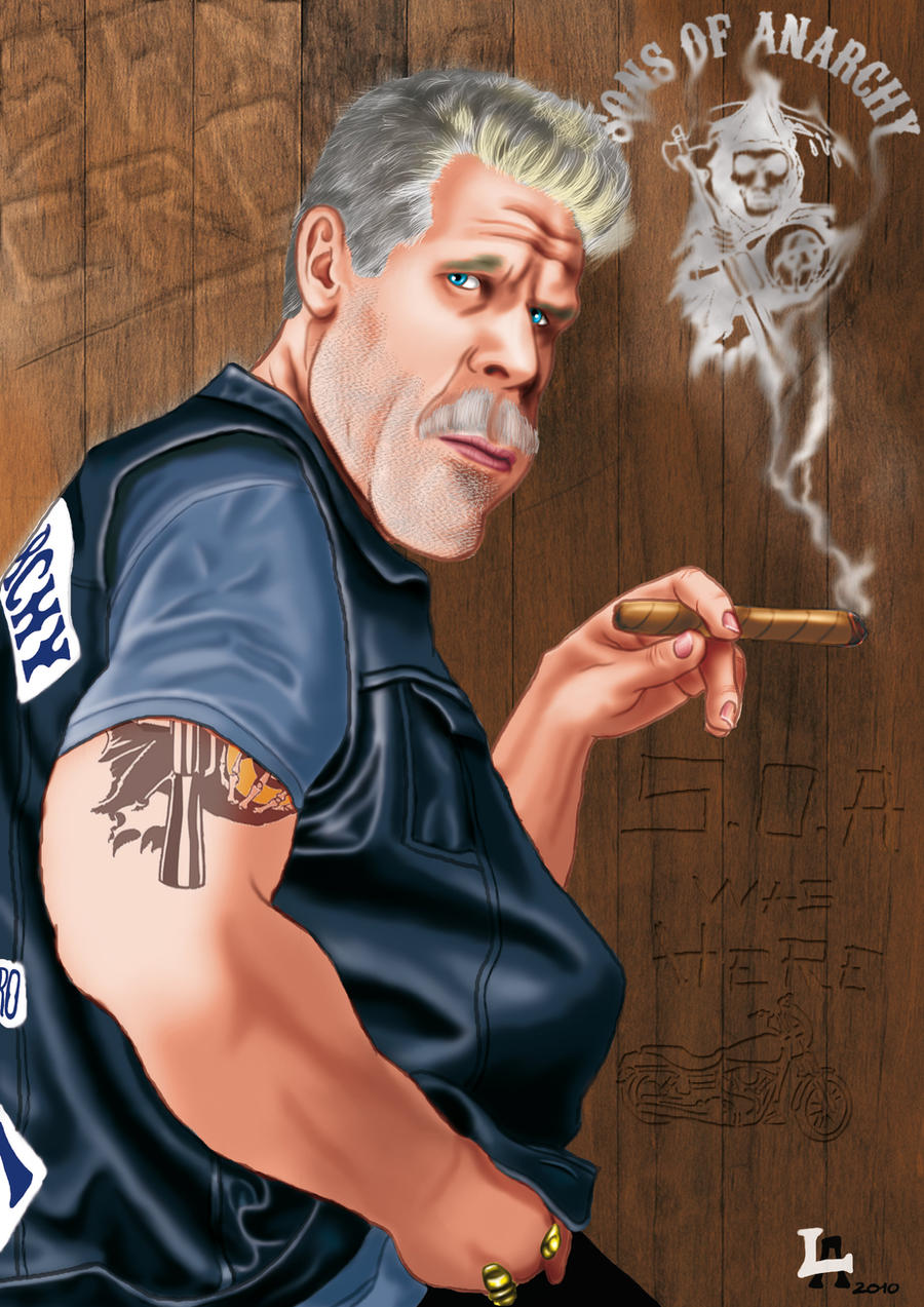 Clay Morrow -sons of anarchy- by Altatoo