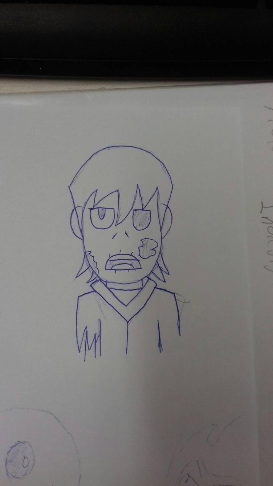 Random zombie by Petrus-C-Visagie