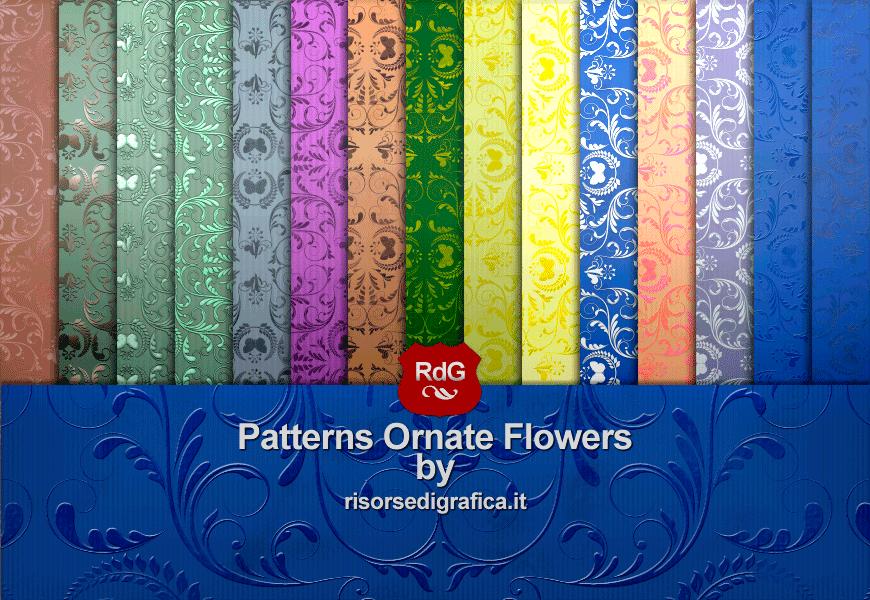 Patterns Ornate Flowers 01 Gallery