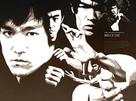 Vectorism v5 : Bruce Lee by jimmao