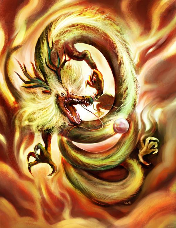Dragon China by nanshu29