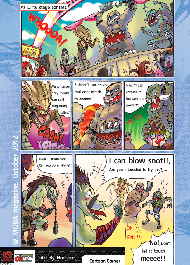 c chibi comic dota by nanshu29 on deviantart