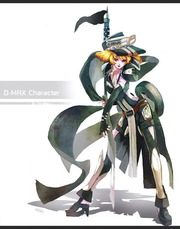 D-MAX Character