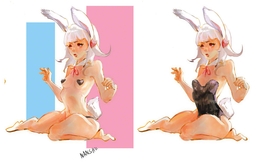 Bunny Girl by nanshu29