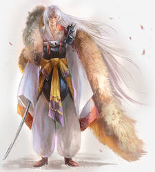 Sesshomaru by nanshu29