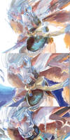 ::Step CG::  Blue light - Sesshomaru