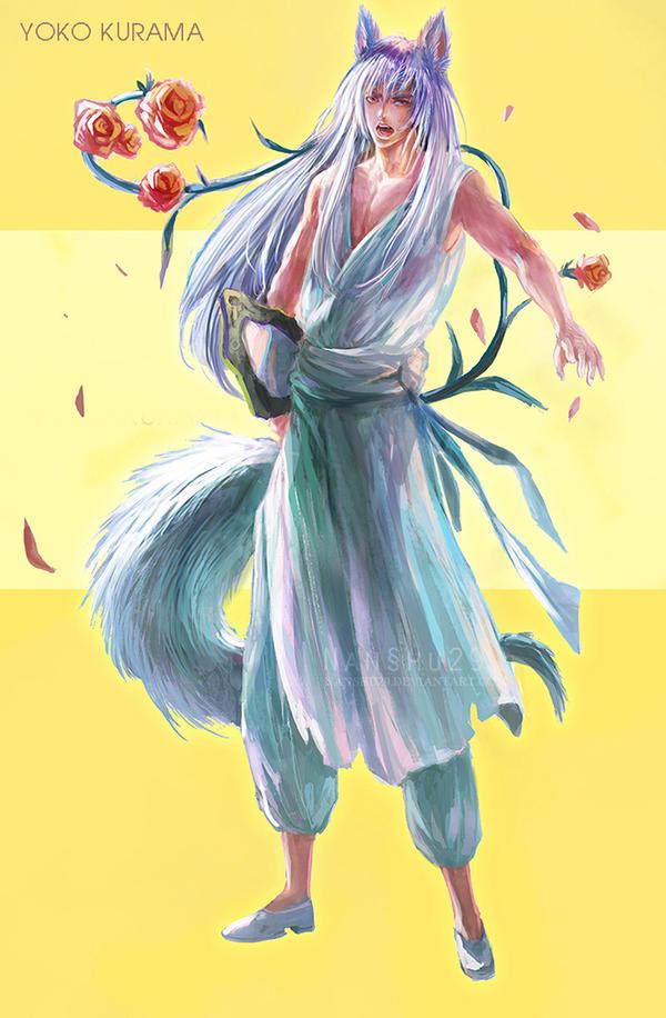 YOKO KURAMA by nanshu29